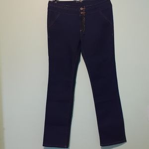 NEW-  Womens Trouser-Style Jean Blue 13(W33xL40.5)